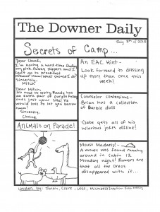 Downer Daily July 8, 2013