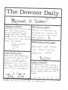 Downer Daily July 9th, 2013